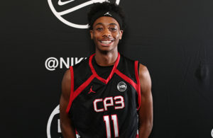 Atlanta, GA - SUNDAY, MAY 29: Nike EYBL. Michael Hueitt #11 of Team CP3 Session 4. (Photo by Jon Lopez)