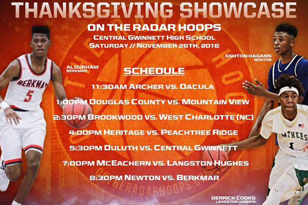 #OTRHoopsReport: Thanksgiving Showcase Live Blog - November 26, 2016