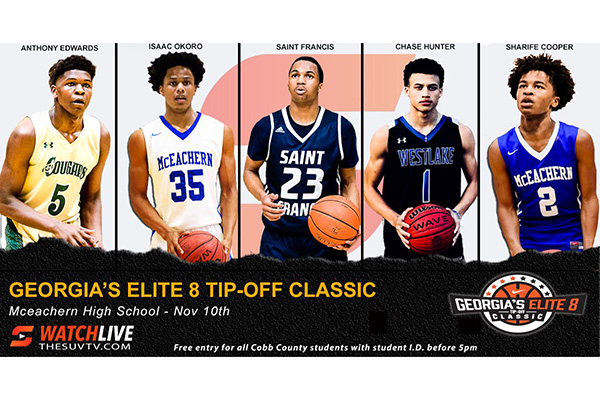 #OTRHoopsReport: Georgia's Elite 8 Tip-Off Classic PREVIEW - November 5, 2018
