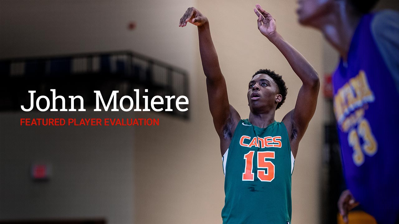 John Moliere Player Evaluation